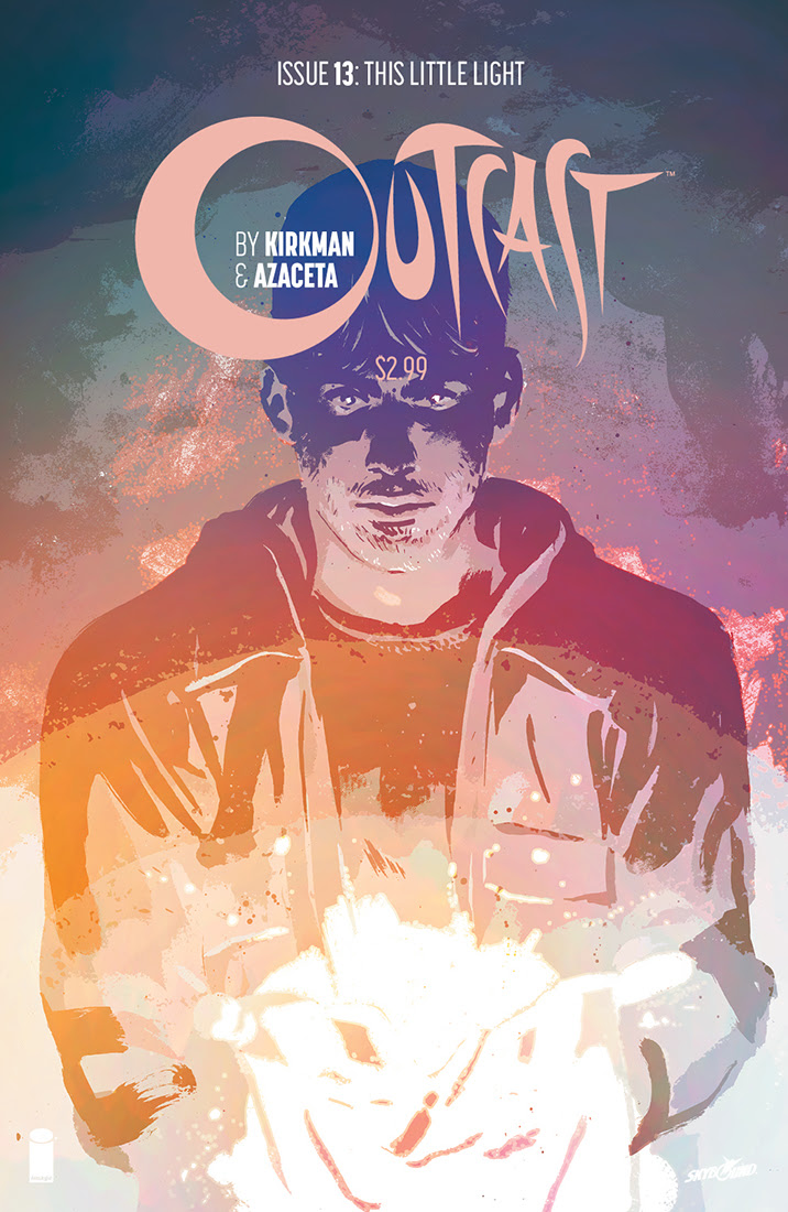 Outcast #13 Cover