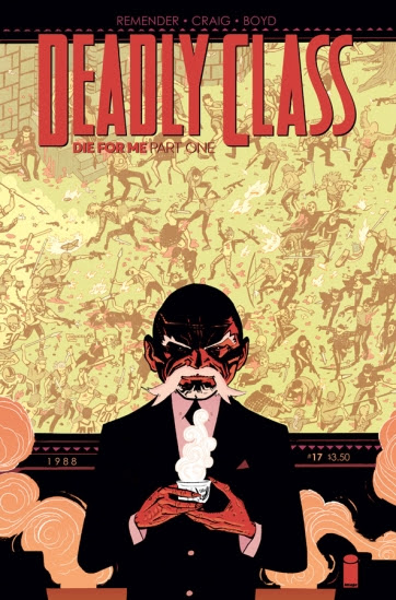 Deadly Class #17 Cover