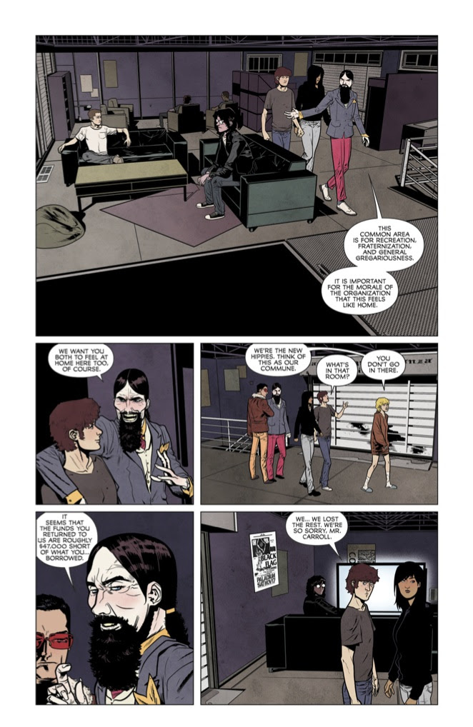We Can Never Go Home #5 Preview Page