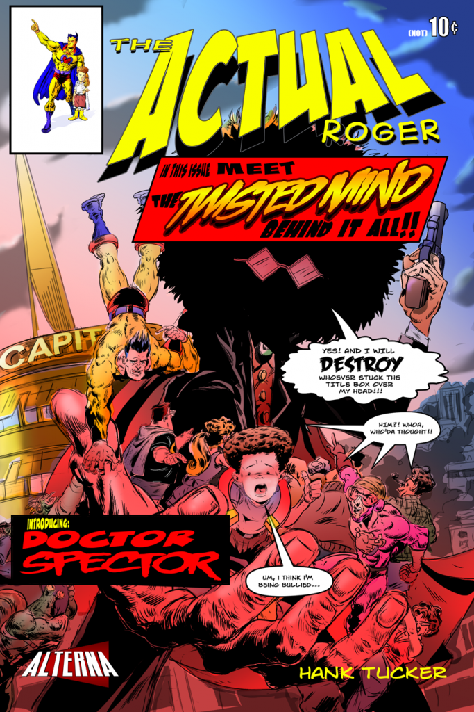 The Actual Roger #4 Cover