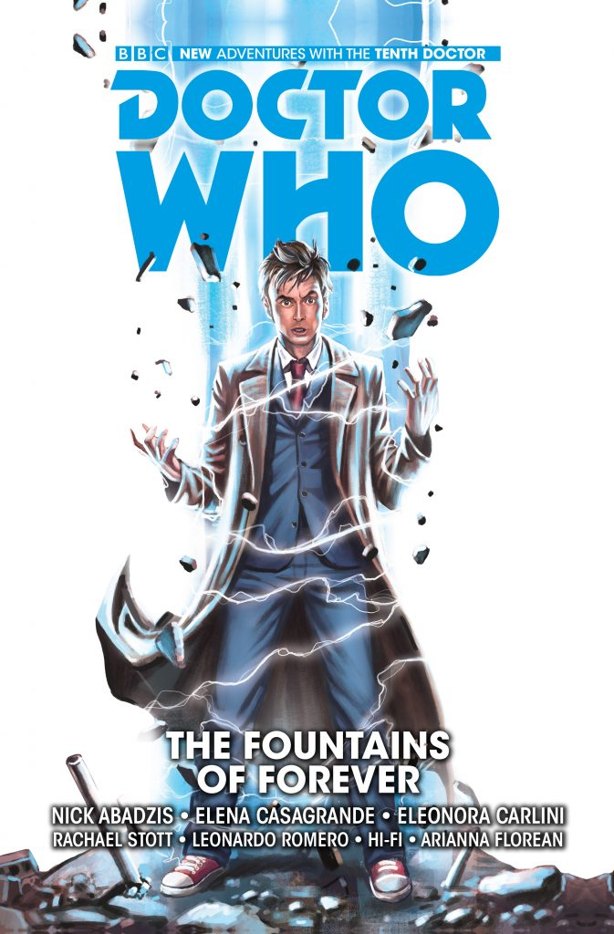 The Tenth Doctor Vol. 3: The Fountains of Forever Cover