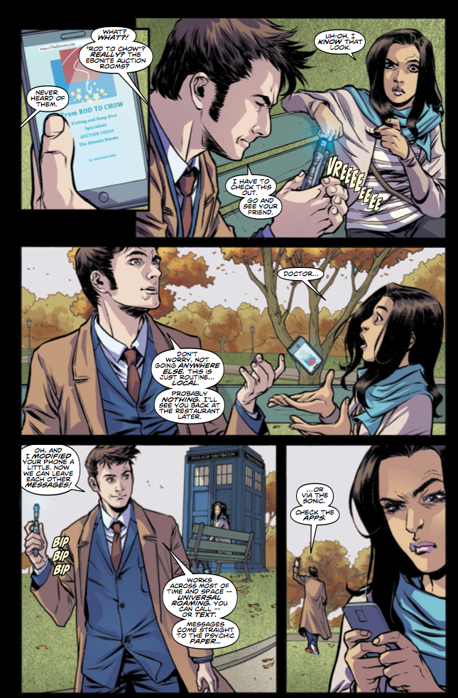 The Tenth Doctor Vol. 3: The Fountains of Forever Preview Page