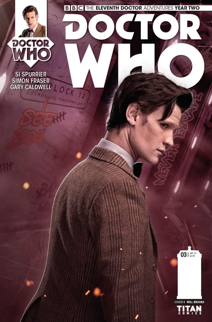 Doctor Who: The Eleventh Doctor #2.3 Cover B