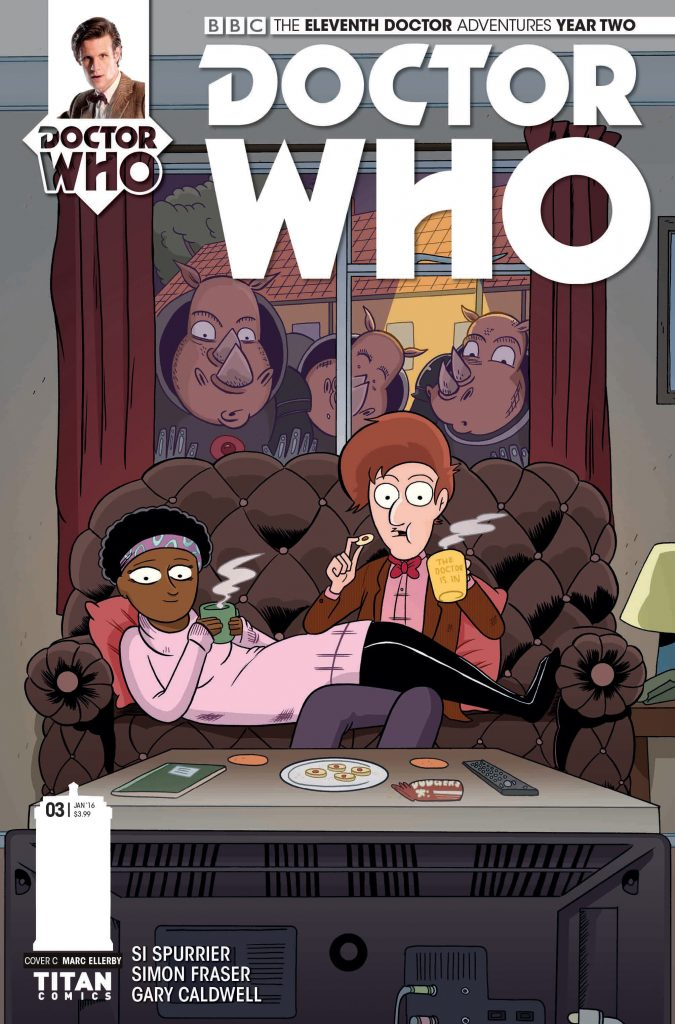 Doctor Who: The Eleventh Doctor #2.3 Cover C