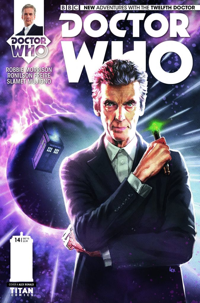 Doctor Who: The Twelfth Doctor #14 Cover
