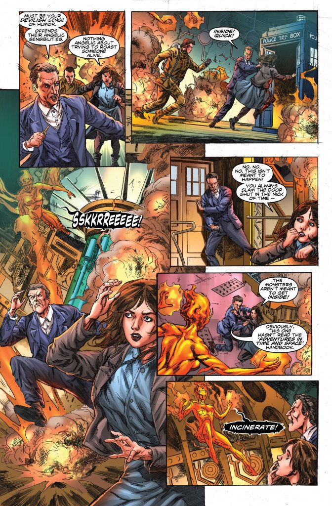 Doctor Who: The Twelfth Doctor #14 Preview Page