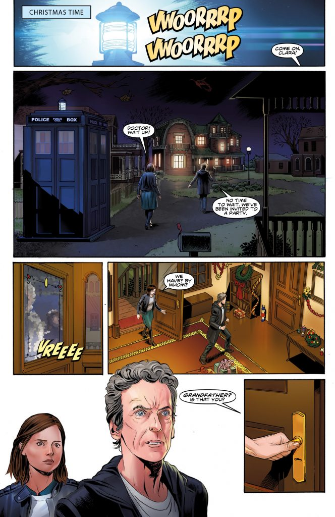 Doctor Who: The Twelfth Doctor Christmas Special Preview Page