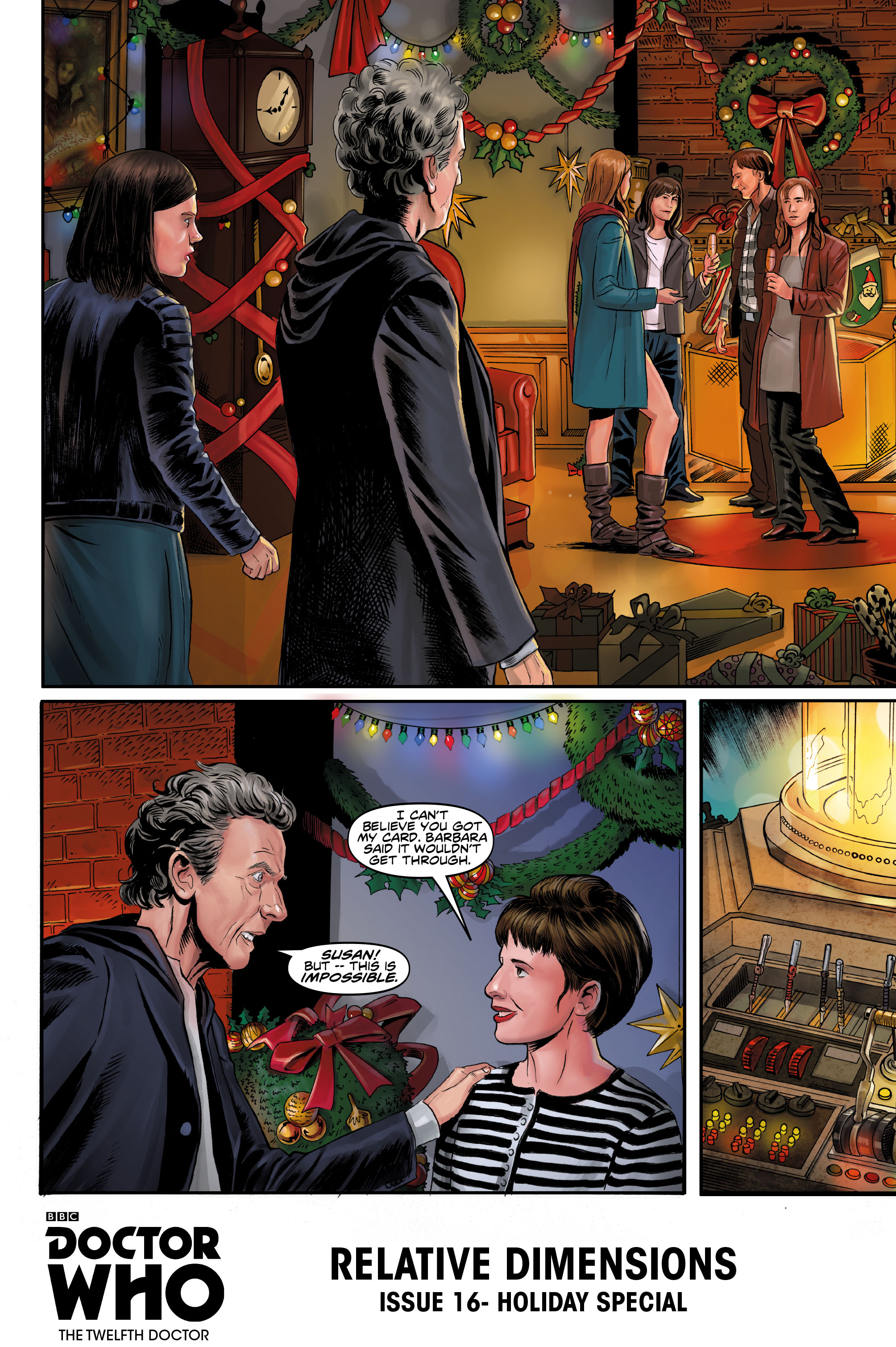 Doctor Who Christmas Special 2015.Comic Book Preview Doctor Who The Twelfth Doctor Christmas