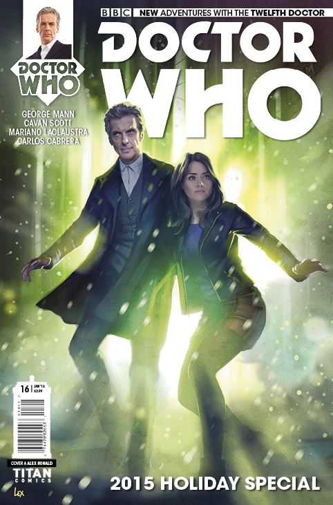 Doctor Who: The Twelfth Doctor Christmas Special Cover A