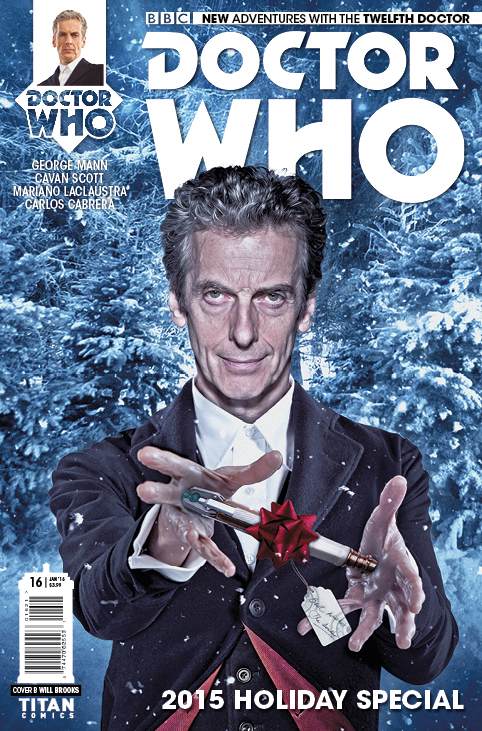 Doctor Who: The Twelfth Doctor Christmas Special Cover B