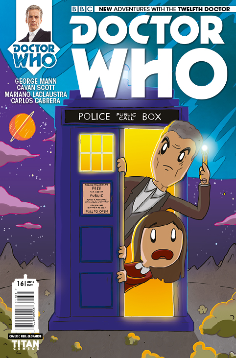 Doctor Who: The Twelfth Doctor Christmas Special Cover C