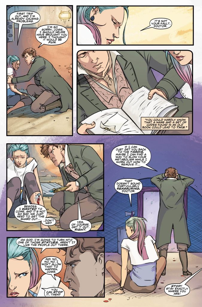 Doctor Who: Eighth Doctor #2 Preview Page