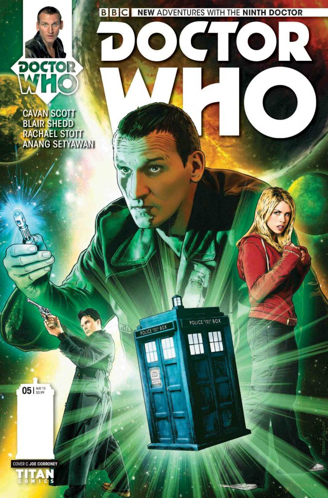 Doctor Who: The Ninth Doctor Miniseries #5 Cover