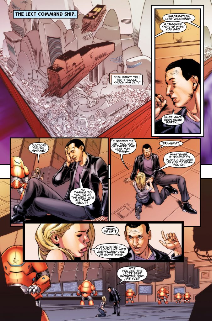 Doctor Who: The Ninth Doctor Miniseries #5 Preview Page