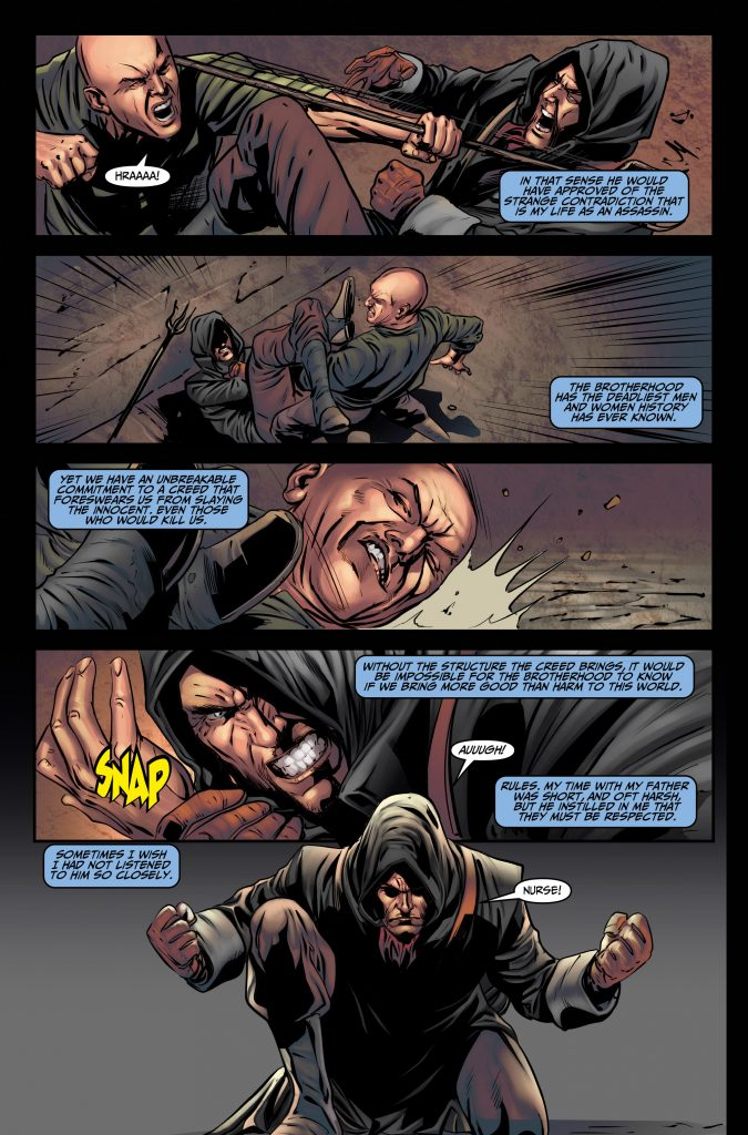 Assassin's Creed #3 Preview Page