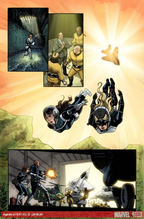 Agents of S.H.I.E.L.D. #1 Preview Page
