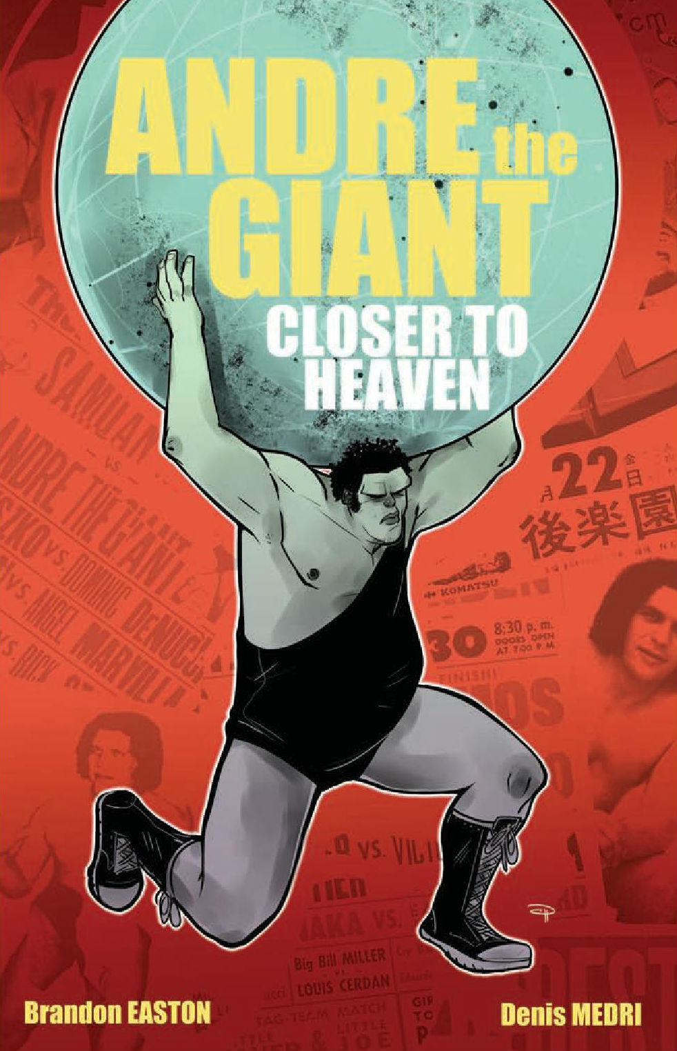 Comic Book Review Andre The Giant Closer To Heaven