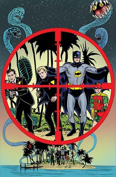 Batman '66 Meet The Man From U.N.C.L.E. #4 Cover