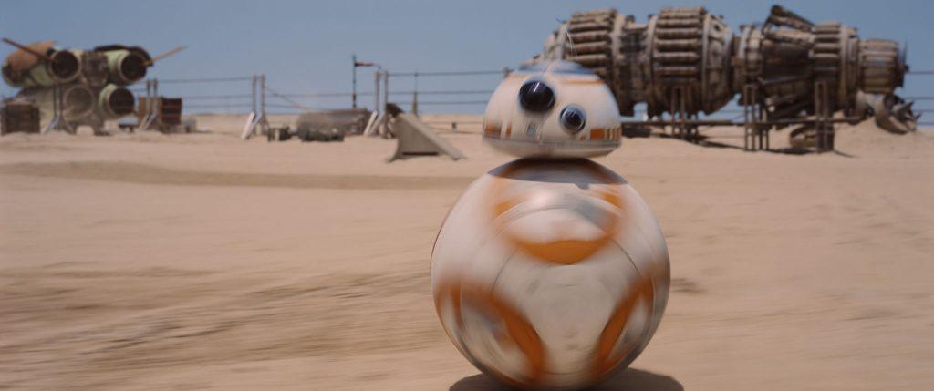 BB-8 on Jakku