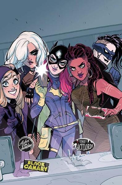 Batgirl #50 Cover