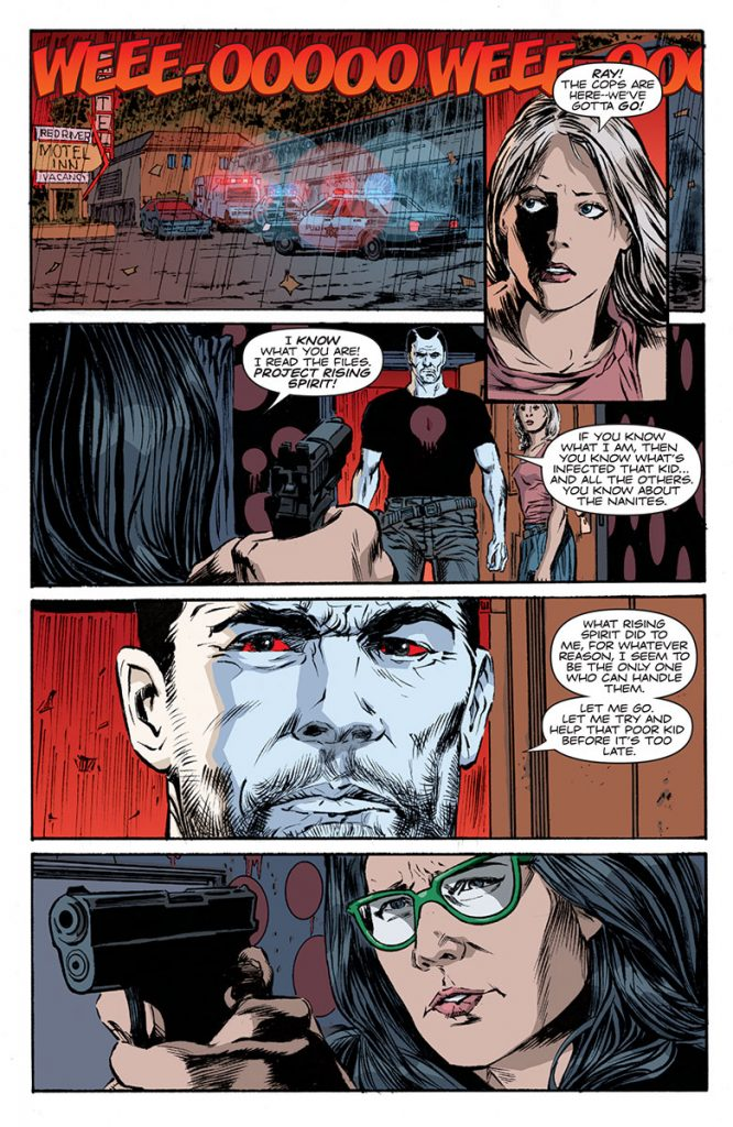 Bloodshot Reborn #9 Preview Page