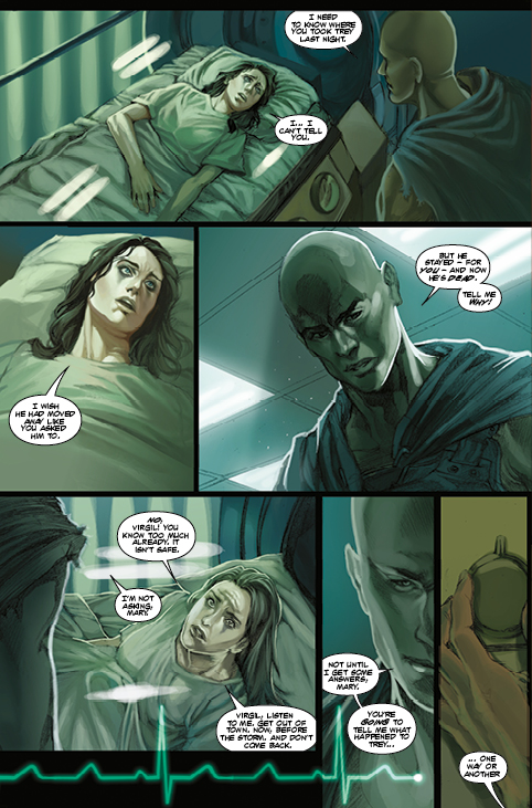 Bloodthirsty #3 Preview Page