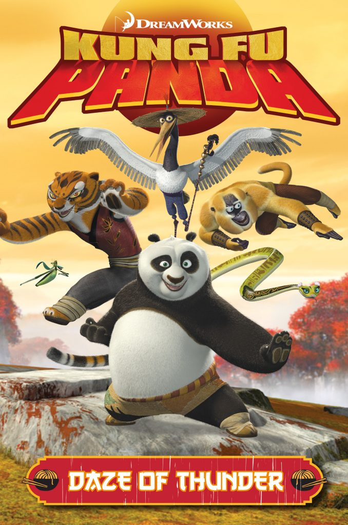 Kung Fu Panda: Daze of Thunder Cover by Iwan Nazif