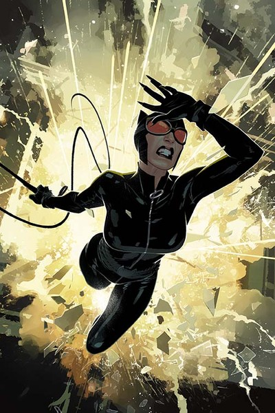 Catwoman #50 Cover