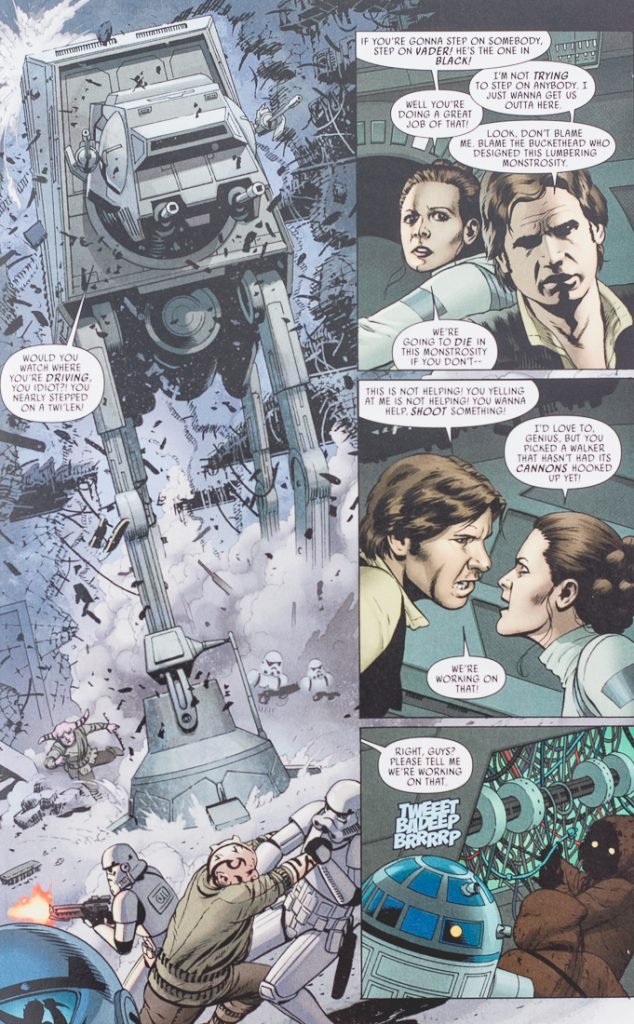 Star Wars #2 Battle of Cymoon 1