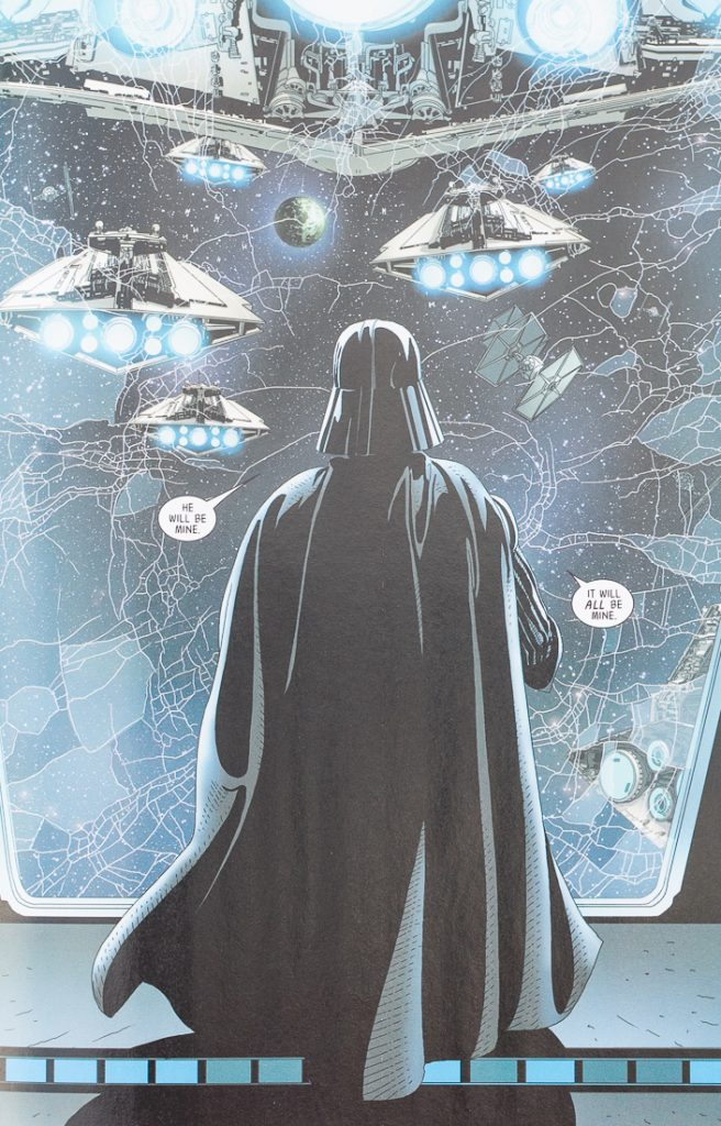 Darth Vader #9 Vader Uncovers the Truth about Luke Skywalker