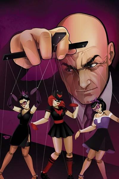 DC Bombshells #10 Cover