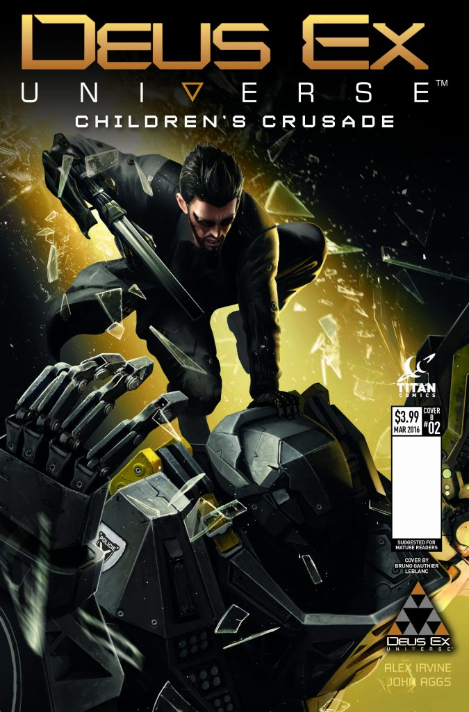 Deus Ex #2 Cover