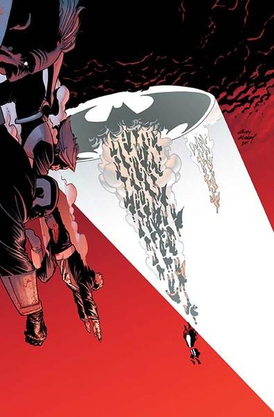Dark Knight III: The Master Race #4 Cover