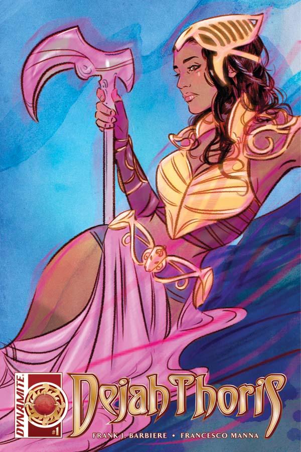 Dejah Thoris #1 Cover