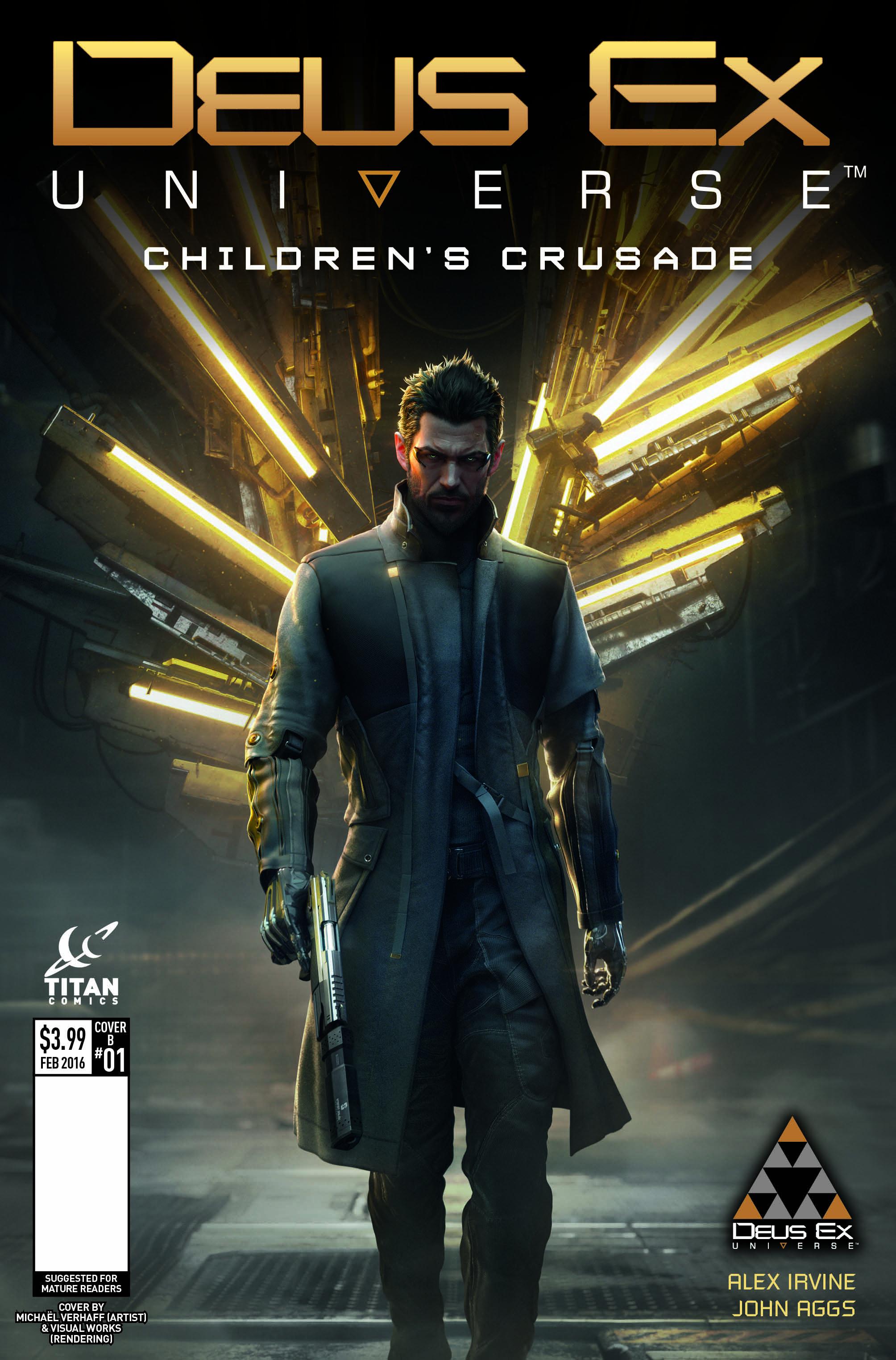 Deus Ex #1 Covers Debuted By Titan