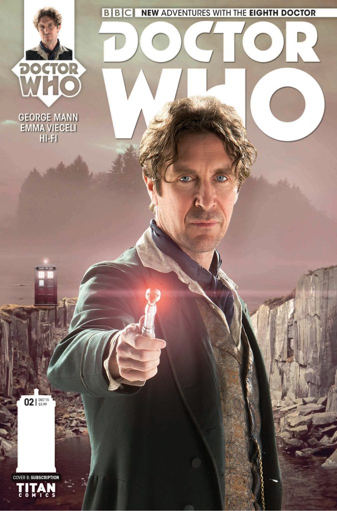 Doctor Who: Eighth Doctor #2 Cover B