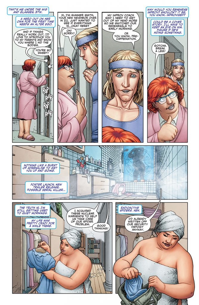 Faith #1 Preview Page