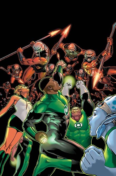 GREEN LANTERN CORPS: THE LOST ARMY TP Cover