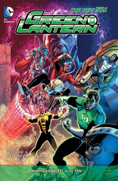 GREEN LANTERN VOL. 6: THE LIFE EQUATION TP Cover