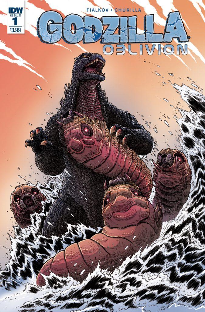 Godzilla: Oblivion #1 Cover