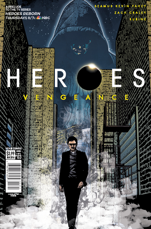 Heroes Vengeance #3 Cover A