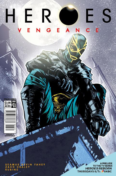 Heroes Vengeance #3 Cover B