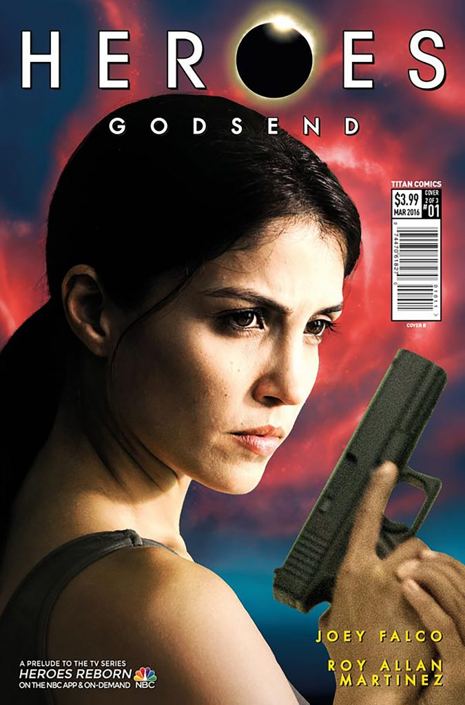 Heroes Godsend #1 Cover