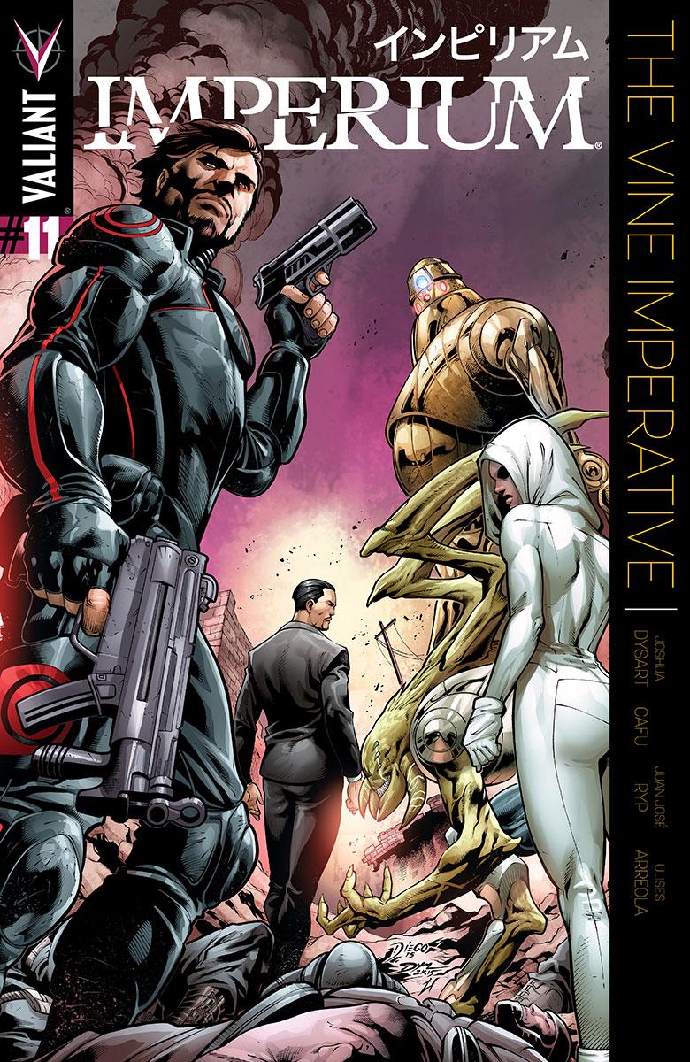 Imperium #11 Cover