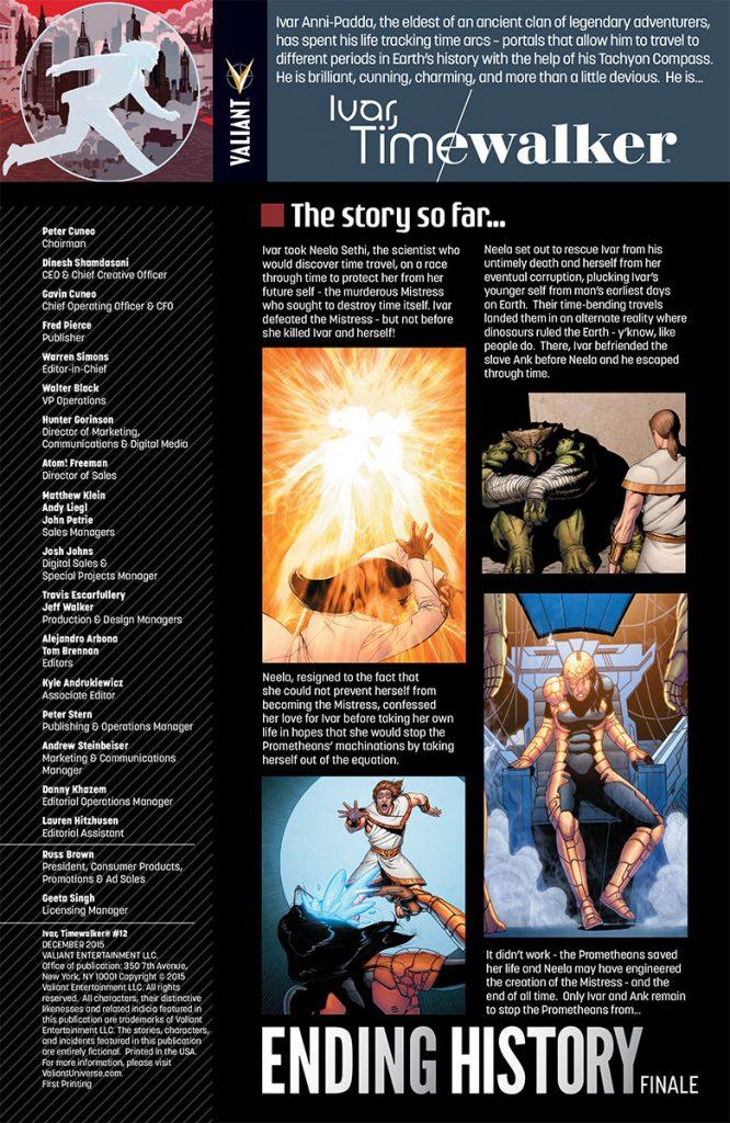 Ivar Timewalker #12 Preview Page