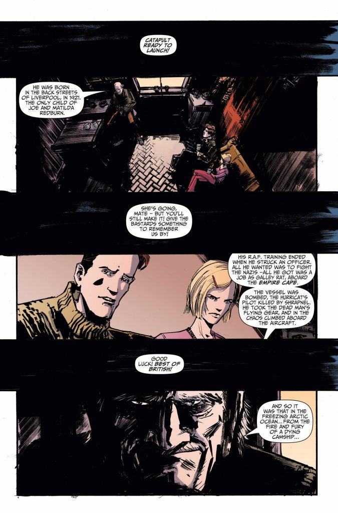 Johnny Red #2 Preview Page