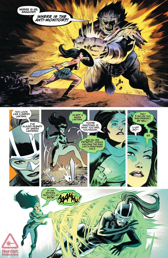 Justice League #46 Preview Page