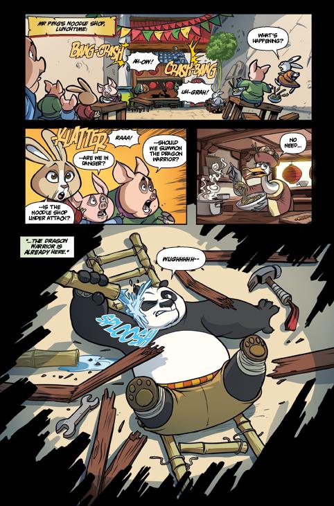 Kung Fu Panda #3 Preview Page
