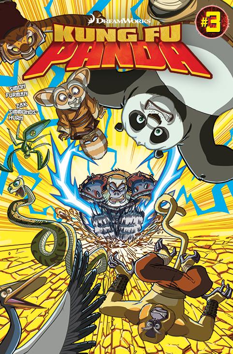 Kung Fu Panda #3 Cover