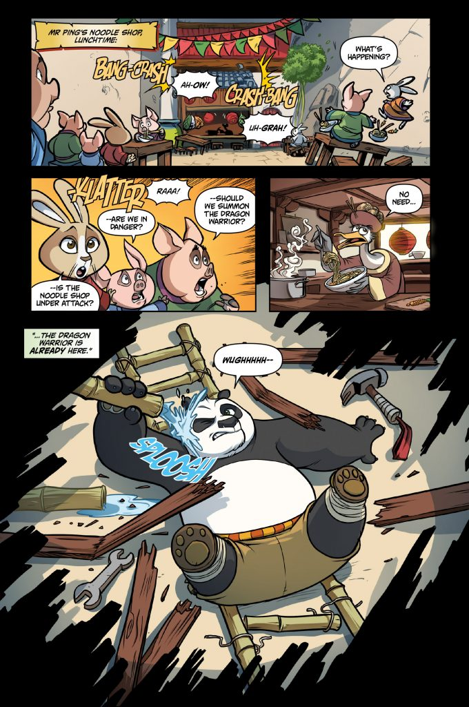 Kung Fu Panda: Daze of Thunder Preview Page